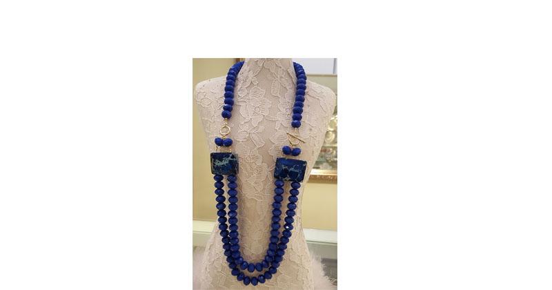 montagem-de-colar-de-cristal-azul