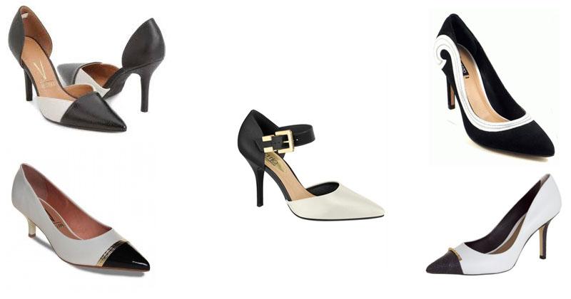 montagem-de-sapatos-bicolores-preto-e-branco