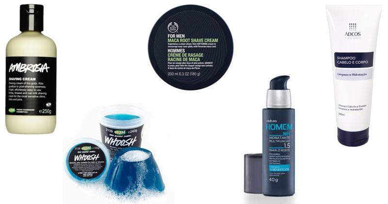 montagem de cosmeticos masculinos 6
