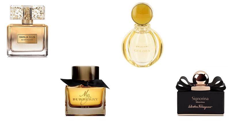 montagem de perfumes femininos abril 2017 goldea
