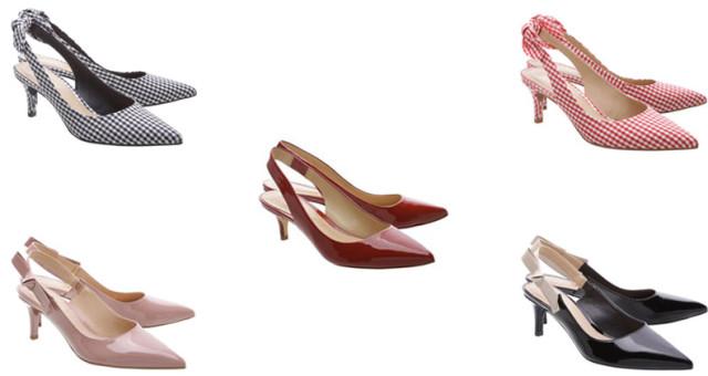 montagem de sapatos arezzo kitten primavera 2018 arezzo e shutz