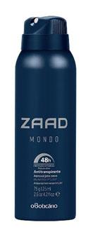 montagem do desodorante zaad mondo