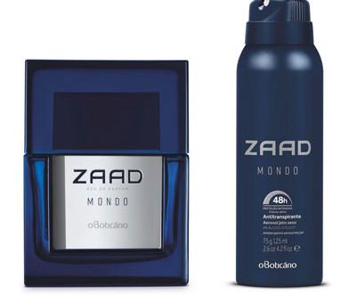 montagem do perfume zaad mondo e desodorante julho 2017
