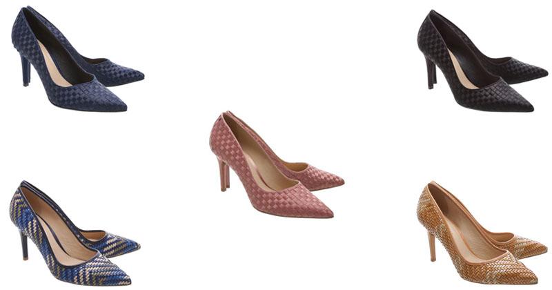 d3d4f17eb8 Moda   Acessórios – Sapatos e Sandálias em Tressê – Primavera Verão ...