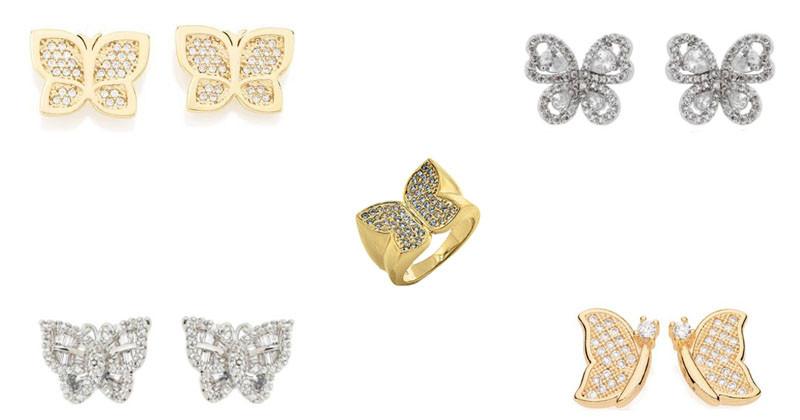 montagem de brinos e anel de borboleta rommanel, waufen, waufen, rommanel destaque