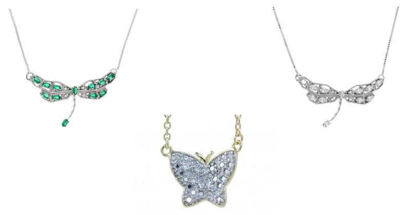 montagem de colares de borboleta waufen e lirabatistela adicionar