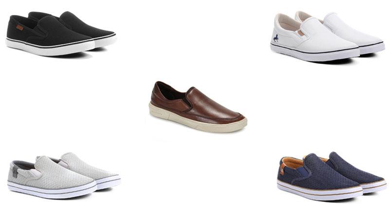 "ca6a14f71 Moda: Sapatos Masculinos ""Slip On"" – Tendências Primavera/Verão 2018"