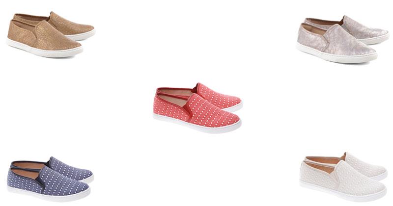 """7c163a2ad3ed6 Moda: Acessórios – Sapatos """"Slip On"""" Femininos – Verão/2018"""