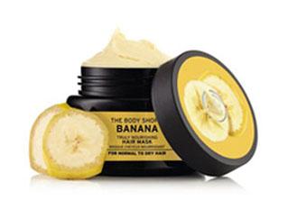 montagem de mascara capilar de banana 2 the body shop