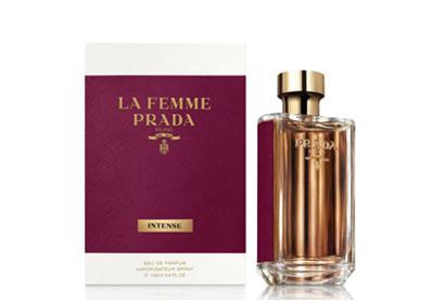 montagem do perfume prada la femme intense 2018