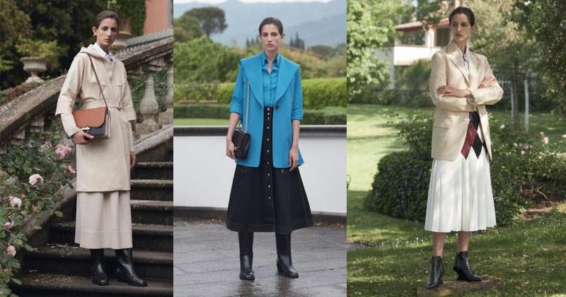 montagem dos roupas femininas salvatore ferragamo 2019 destaque