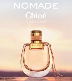 montagem do perfume nomade da chloe feminino destaque