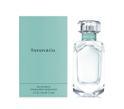 montagem do perfume tiffany e co