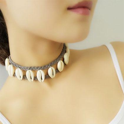 montagem de colar de buzio destaque Tudo na moda